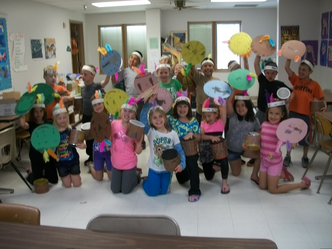 Diller Odell Elementary Art Projects