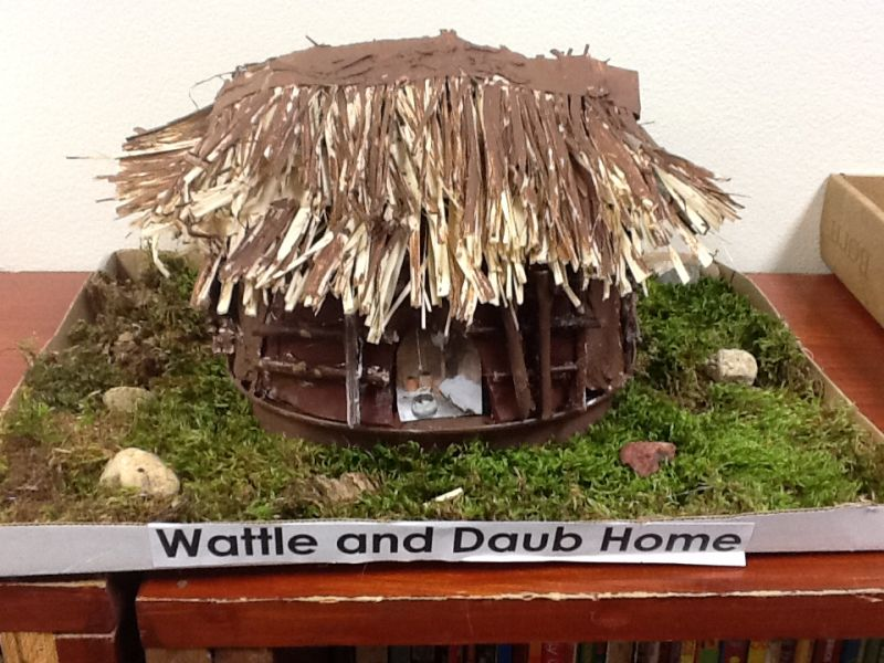 School project adobe house